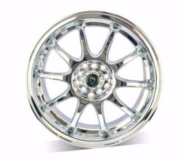 1X 17 INCH CHROME WHEEL For Civic,Corolla,WRX,Lancer