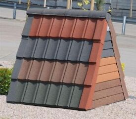 Granulated Lightweight Pan Tiles & Roofing for Conservatories (Factory Seconds)