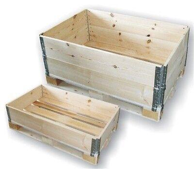 2x PALETTENAUFSATZRAHMEN 120 x 80cm ✅ NEU ✅ IPPC ✅ KLAPPRAHMEN ✅ AUFSETZRAHMEN