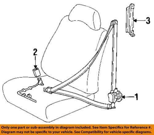 camry seat belt ebay : seat belt diagram - findchart.co