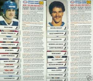 RICK VAIVE .... PEI's own .... 1983-84 ESSO .... hockey card