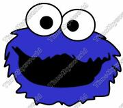 Cookie Monster Iron On