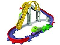 Large 3 set chuggington track with trains