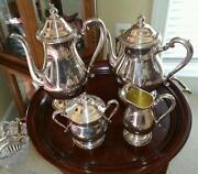 International Silver Plated Tea Set