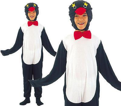 Childrens Kids Penguin Fancy Dress Costume Pingu Happy Feet Outfit M