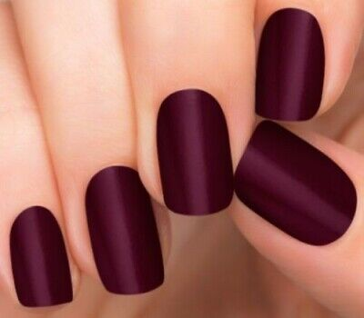 INCOCO Nail Applique Wrap Strips Made With 100% Real Nail Polish - BORDEAUX