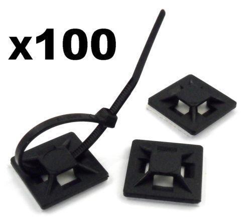 Self Adhesive Cable Ties Ebay