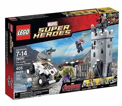 76041 THE HYDRA FORTRESS SMASH lego legos set NEW marvel super heroes HULK