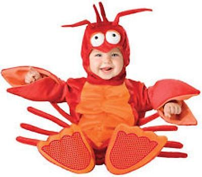 Incharacter 4pc Lil Lobster Plush Halloween Costume- 18M /2T NEW  Toddler NEW