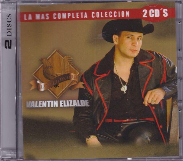 Valentin Elizalde La Mas Completa 2CDS New Sealed Nuevo