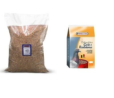 Johnston & Jeff Four Seasons Pigeon Corn 20kg + 2.5kg Grit & Redstone with Anise