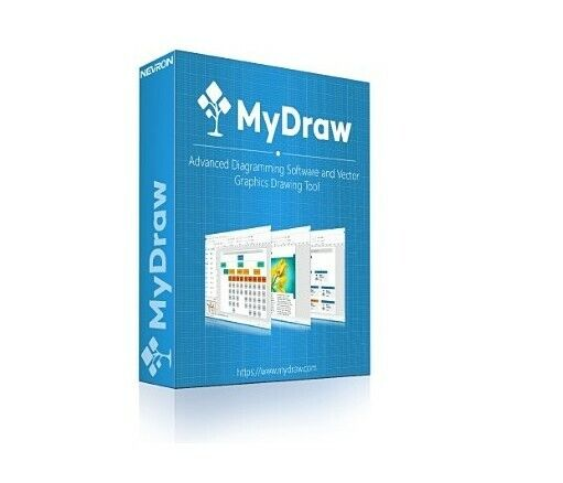 MyDraw Flowchart Software for windows or macOS