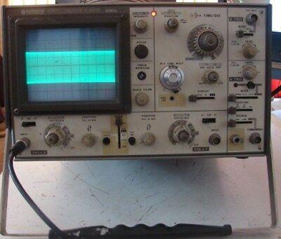 Hitachi V550b Oscilloscope 50mhz