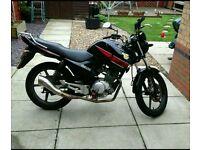 Yamaha ybr 125cc 2012 £11000ono