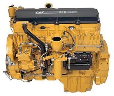 Caterpillar C11 C13 C15 C16 CAT ACERT Truck Engine Service Shop Repair Manual CD
