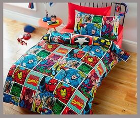 Marvel Comics Single duvet cover and pillowcase - Brand new in Packaging