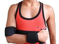 Wonder Care- Elastic Shoulder Immobiliser Clavicle Support Brace / Sling - L