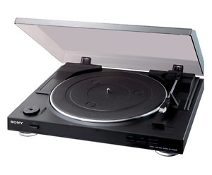 Sony PS-LX300 USB Turntable (Record player)
