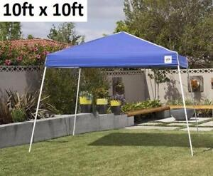 NEW CARAVAN CANOPY SERIES 2 10'X10' EZ UP GAZEBO - BLUE