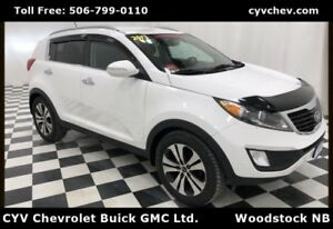 2013 Kia Sportage EX - Rear Camera, XM & Bluetooth