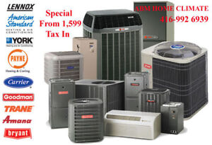 FURNACE AND AIR CONDITIONER INSTALLATION AND REPAIR