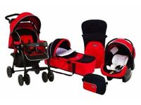 'Chicco Today' travel system inc pram, carry cot and car seat
