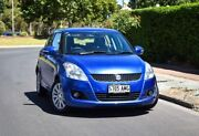 2011 Suzuki Swift FZ GLX Blue 4 Speed Automatic Hatchback Mile End South West Torrens Area Preview
