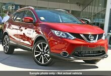 2015 Nissan Qashqai J11 TL Magnetic Red Continuous Variable Wagon Beaudesert Ipswich South Preview