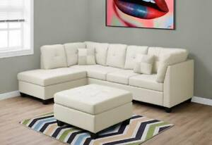 Brand new 2 pc sectional is on sale for $998 only+FREE DELIVERY!