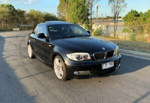 2011 BMW 1 Series E82 LCI MY0911 120i Steptronic Black 6 Speed Sports Automatic Coupe Darra Brisbane South West Preview