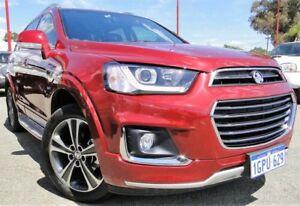 2017 Holden Captiva CG MY18 LTZ AWD Red 6 Speed Sports Automatic Wagon