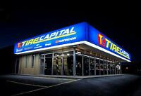 Now Hiring Tire Techs Today!