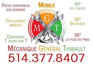 Service de Mécanicien Mobile Entretien Mécanique à Domicile 40$/