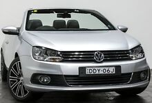 2012 Volkswagen EOS 1F MY12 103TDI DSG Silver 6 Speed Sports Automatic Dual Clutch Convertible Rozelle Leichhardt Area Preview
