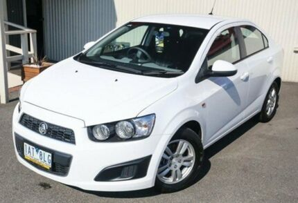 2013 Holden Barina White Automatic Sedan Dandenong Greater Dandenong Preview