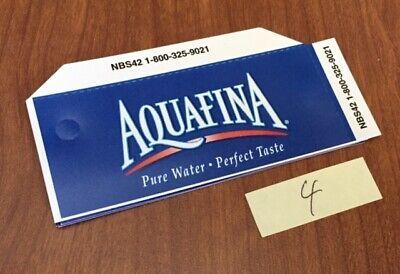 Soda Machine Flavor Strip Labels Variety Aquafina Brisk Mountain Dew Water