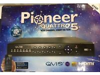 8 Channel QVIS Pioneer Quattro 5 DVR for quick sale