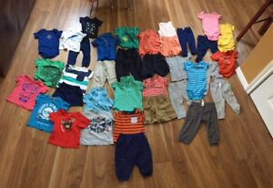 Summer Boys Clothes - Mostly Carter's, Size 12-18