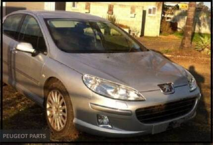 WRECKING 2007 PEUGEOT 407 AUTO2.7L DIESEL FREE FREIGHT M035
