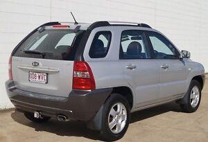 2007 Kia Sportage KM2 LX Silver 5 Speed Manual Wagon Bundaberg Central Bundaberg City Preview