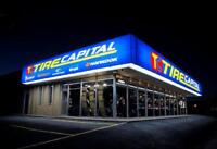 NOW HIRING TIRE TECHS FULL/PART TIME START TODAY!