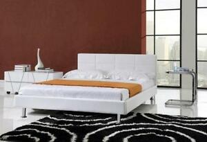 $$$ Blow Out Sale*brand new PU leather platform bed-all sz avail