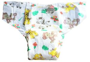 Adult Large Incontinence Containment Diaper/ Briefs