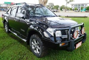 2009 Nissan Navara D40 Titanium Black 6 Speed Manual Utility Hidden Valley Darwin City Preview