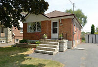 2 BR bungalow on Queensway and Royal York in Etobicoke