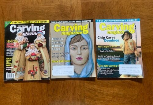 3 CARVING Magazines