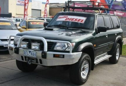 1999 Nissan Patrol GU ST Green 5 Speed Manual Wagon Altona North Hobsons Bay Area Preview