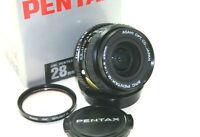 Pentax SMC M 28 2.8 wide angle prime lens