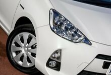 2013 Toyota Prius c NHP10R E-CVT White 1 Speed Constant Variable Hatchback Wangara Wanneroo Area Preview