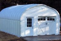 Galvanized Metal Garage/workshop